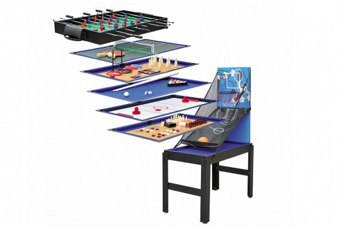 Table Multi-Jeux 14 en 1